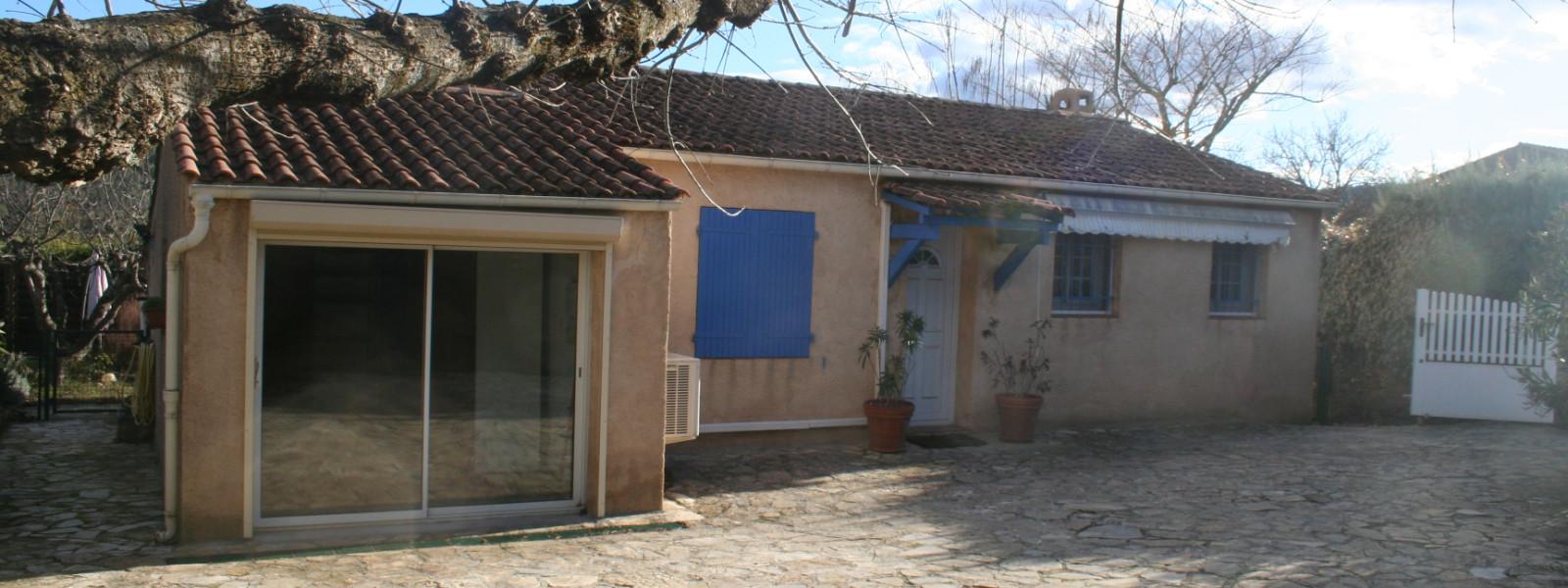 Villa plain pied Salernes